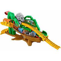 Fisher-Price Железная дорога Томас и друзья Приключения в джунглях Thomas Friends Adventures Jungle Quest Train