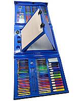 Набір для малювання SUNROZ Mega Art Set з мольбертом Блакитний (5517)