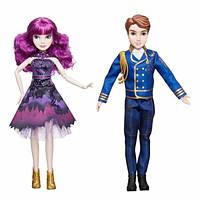 Disney Наследники набор кукол Мэл и Бен Descendants Royal Cotillion Couple Ben Mal, фото 1