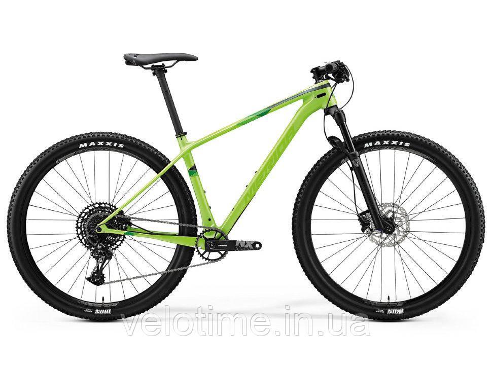 Merida Big Nine 4000 29 2020 (S, зеленый)