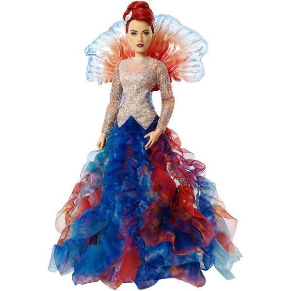 DC Super Hero Girls Коллекционная кукла принцесса Мера Aquaman Royal Gown Mera Doll