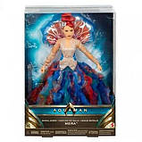 DC Super Hero Girls Коллекционная кукла принцесса Мера Aquaman Royal Gown Mera Doll, фото 4