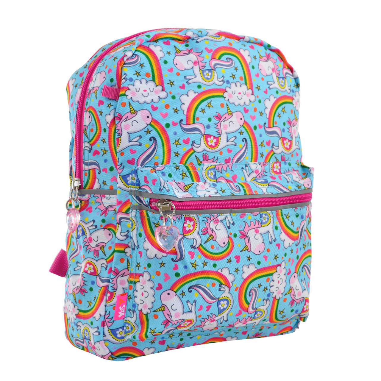 Рюкзак детский дошкольный YES, двухсторонний K-32 Rachell Pattern код: 556849