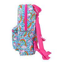 Рюкзак детский дошкольный YES, двухсторонний K-32 Rachell Pattern код: 556849, фото 3