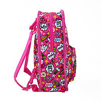 Рюкзак детский дошкольный YES, двухсторонний K-32 Rachell Pattern код: 556849, фото 5