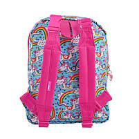 Рюкзак детский дошкольный YES, двухсторонний K-32 Rachell Pattern код: 556849, фото 6