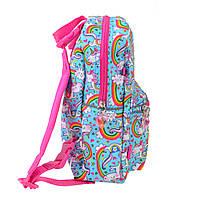Рюкзак детский дошкольный YES, двухсторонний K-32 Rachell Pattern код: 556849, фото 10