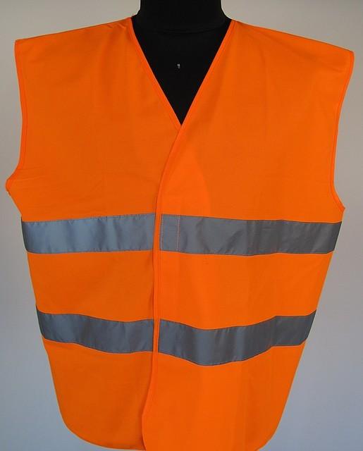 Жилет сигнальний «Евро», оранжевий (Чехия), фото 1