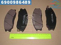 ⭐⭐⭐⭐⭐ Колодки тормозные дисковые (F) ХЮНДАЙ TRAGET, SANTA FE (производство  SPEEDMATE, Korea)  SM-BPH021