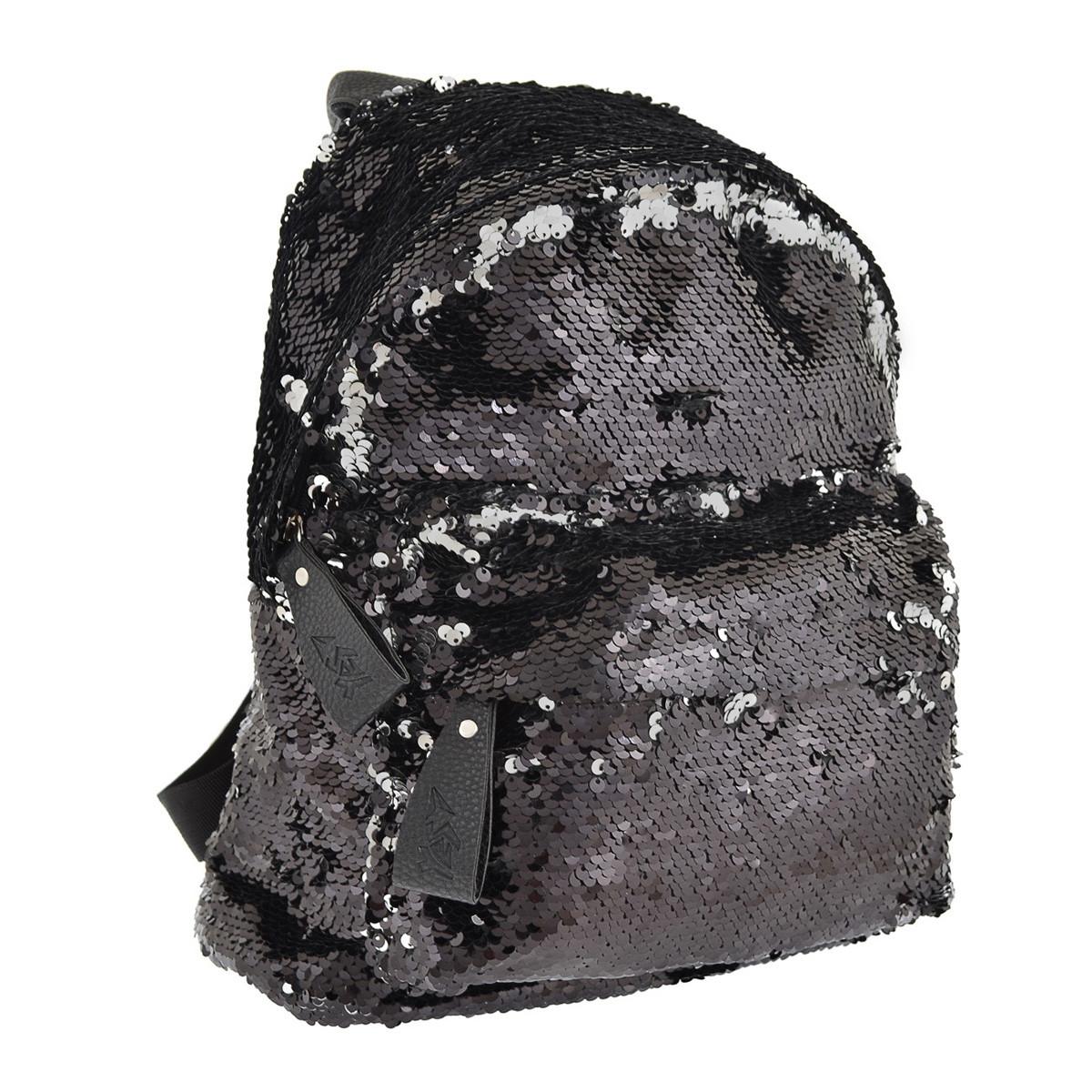 Рюкзак городской YES з пайетками GS-03 Black код: 557655