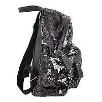 Рюкзак городской YES з пайетками GS-03 Black код: 557655, фото 3