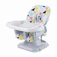 Fisher-Price Детский стульчик бустер для кормления Комфорт FLG95 SpaceSaver High Chair Multicolor
