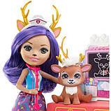 Enchantimals Данесса Дир Заботливый ветеринар GBX04 Caring Vet Playset with Danessa Deer Doll, фото 4