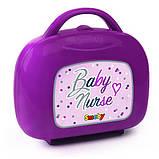 Smoby Кейс для кормления и ухода за куклой пупсом Прованс 220341 Baby Nurse provans, фото 2