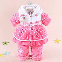 Мягенький костюмчик для девочки, фото 1