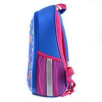 Рюкзак школьный ортопедический каркасный 1Вересня H-27 Owl party код: 557710, фото 3