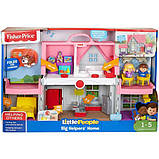 Fisher-Price Little People Музыкальный дом FWX12 Big Helpers Home, фото 3