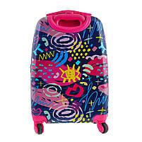 Чемодан детский YES на колесах Graffity, LG-5 код: 557827, фото 6