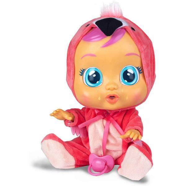 Cry Babies Интерактивная кукла пупс Плачущий младенец Фенси фламинго 97056IM Fancy Baby Doll