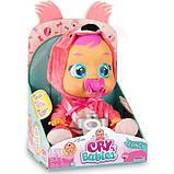 Cry Babies Интерактивная кукла пупс Плачущий младенец Фенси фламинго 97056IM Fancy Baby Doll, фото 4