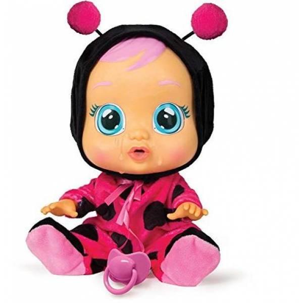 Cry Babies Интерактивная кукла пупс Плачущий младенец Леди божья коровка 96295 Lady The Ladybug Doll