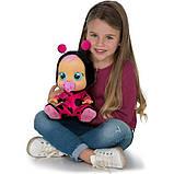 Cry Babies Интерактивная кукла пупс Плачущий младенец Леди божья коровка 96295 Lady The Ladybug Doll, фото 3