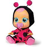Cry Babies Интерактивная кукла пупс Плачущий младенец Леди божья коровка 96295 Lady The Ladybug Doll, фото 4