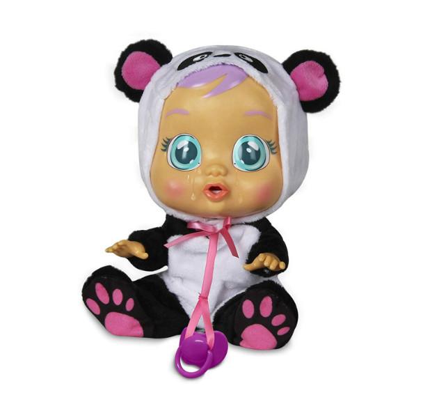 Cry Babies Интерактивная кукла пупс Плачущий младенец Пенди панда 98213 Pandy doll