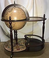 Глобус бар напольный со столиком d=42см RG 42004N