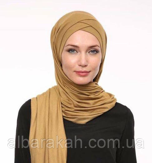 Готовый Хиджаб (двойной нахлёст)