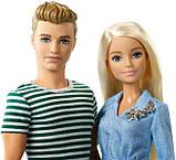 Barbie Набор кукол Барби с аксессуарами и Кен со щенком FTB72 Dolls Accessories Ken Puppy Dolls Puppy, фото 3