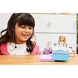 Barbie Барби клуб Челси Спальная комната время сна FXG83 Club Chelsea Bedtime Playset, фото 3
