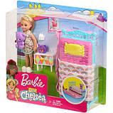 Barbie Барби клуб Челси Спальная комната время сна FXG83 Club Chelsea Bedtime Playset, фото 7