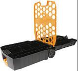 Hot wheels Кейс чемодан на колесах для хранения 100 машинок 20135 Rolling Storage Case Retractable Handle, фото 5