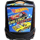 Hot wheels Кейс чемодан на колесах для хранения 100 машинок 20135 Rolling Storage Case Retractable Handle, фото 4