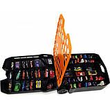 Hot wheels Кейс чемодан на колесах для хранения 100 машинок 20135 Rolling Storage Case Retractable Handle, фото 2