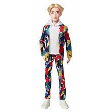 BTS БТС Чин Джин Кім Сік Джин Jin Rap Monster Idol Beyond the Scene Doll
