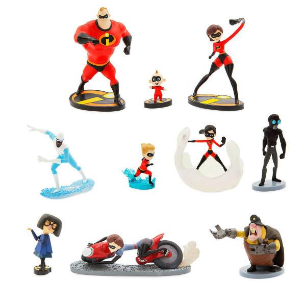 Disney Игровой набор с фигурками Суперсемейка 2 Pixar Incredibles 2 Deluxe Figure Set 461077448940