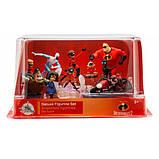 Disney Игровой набор с фигурками Суперсемейка 2 Pixar Incredibles 2 Deluxe Figure Set 461077448940, фото 2