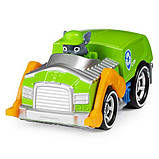 Paw Patrol Щенячий патруль Рокки с автомобилем металлическая Rocky True Metal Die-Cast Vehicle, фото 2