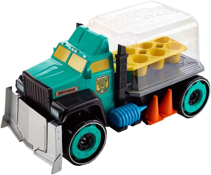Matchbox Большая машина-теплица грузовик Cадовод DML57 Grow Pro Playset
