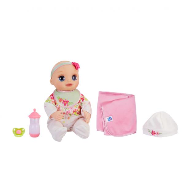 Baby Alive Інтерактивна лялька пупс Моя Улюблена Малютка E2352 Real As Can Be Baby Blonde Hair