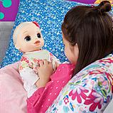 Baby Alive Інтерактивна лялька пупс Моя Улюблена Малютка E2352 Real As Can Be Baby Blonde Hair, фото 3
