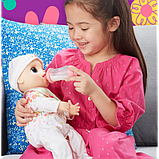 Baby Alive Інтерактивна лялька пупс Моя Улюблена Малютка E2352 Real As Can Be Baby Blonde Hair, фото 4