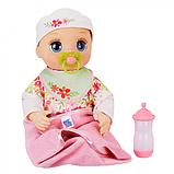 Baby Alive Інтерактивна лялька пупс Моя Улюблена Малютка E2352 Real As Can Be Baby Blonde Hair, фото 7