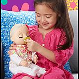 Baby Alive Інтерактивна лялька пупс Моя Улюблена Малютка E2352 Real As Can Be Baby Blonde Hair, фото 8