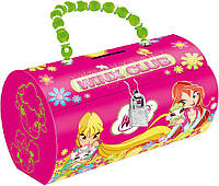 Копилка-сумочка металлическая Винкс.     код: 703991