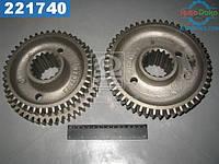 ⭐⭐⭐⭐⭐ Блок шестерен 1-4 передач ДТ 75, Zб=50, Zм=44 (производство  МЗШ)  77.37.189