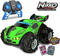 Nikko Машинка-амфибия на радиоуправлении зеленый неон 94210 VaporizR 2 Neon Green