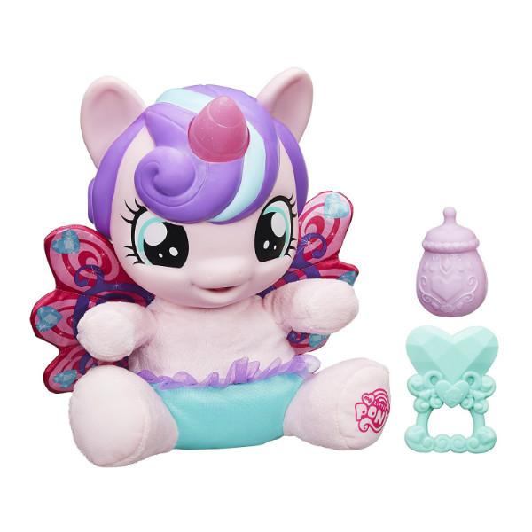 My Little Pony Интерактивная пони-принцесса малышка Флари Харт испанский язык B5365 Baby Flurry Heart Pony